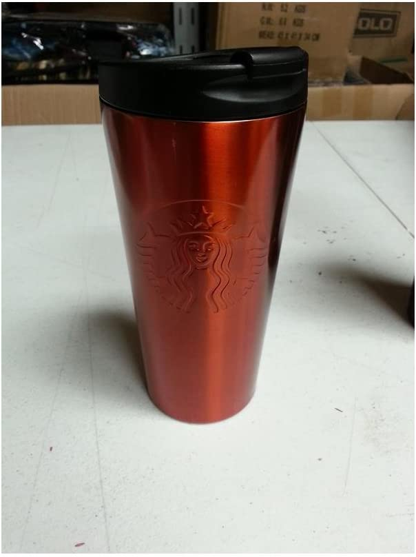 Starbucks color naranja cafetera de acero inoxidable vaso de ...