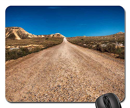 Mouse Pad - Road The End Principle Desert Route 66 Perspective