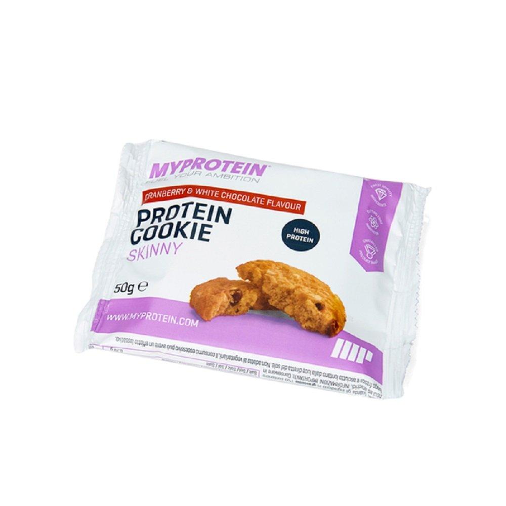 MyProtein Skinny Cookie Galletas de Proteínas, Sabor Bayas - 12 Unidades: Amazon.es: Salud y cuidado personal