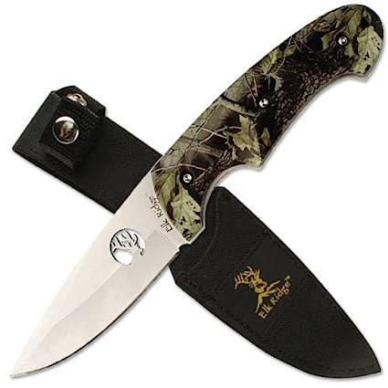 Amazon.com: Mc Invierno Camo Hunter cuchillo 440 – Hoja de ...