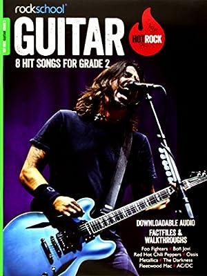 Rockschool Hot Rock Guitar Grade 2: Amazon.es: Uings, James, Troup ...