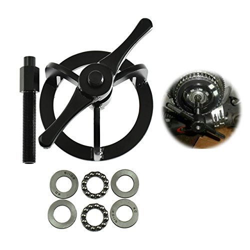 Rebacker Clutch Spring Compression Tool Kit for Harley 1340 cc Models Touring Dyna Softail Sportster 48 XL 883 1200 -