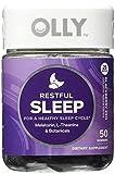 OLLY Restful Sleep Gummy Supplements, Blackberry Zen, AssortedSize 2Pack ( 100 Count Each ) Review