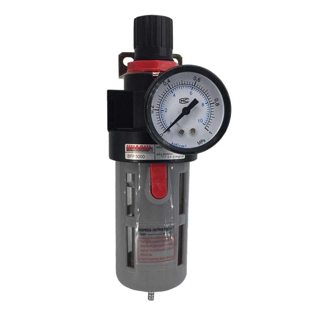 BFR3000 5//8 Pneumatic Source Treatment Unit Air Filter Pressure Regulator