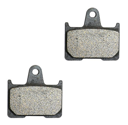 CNBK Rear Brake Pad Carbon for SUZUKI Street Bike GSX-R600 GSXR600 GSXR GSX R GSX-R 600 K4 K5 04 05 2004 2005 1 Pair(2 Pads) ()