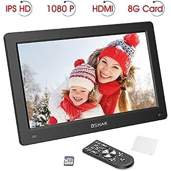 Amazon.com : Digital Photo Frame by BSHAK IPS HD 1920x1080