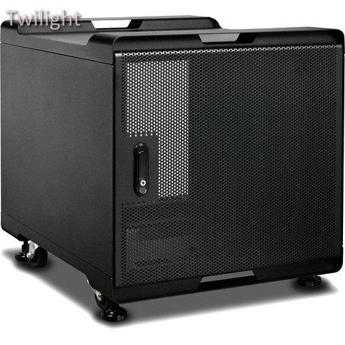 iStarUSA WS-1070B 10 RU Audio/Video Rackmount Cabinet (700mm Depth, Black)