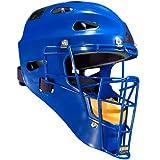 All Star Adult Hockey Style Catchers Helmets Royal