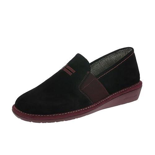 Nordikas 9161/8 Plus Alfelpado Zapatillas Negro: Amazon.es: Zapatos y complementos