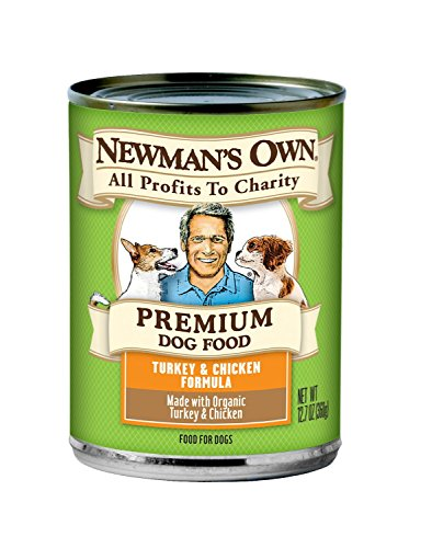 Newman's Own Organic Turkey and Chicken Can Dog Food, 12.7 Ounce (Pack of 6)