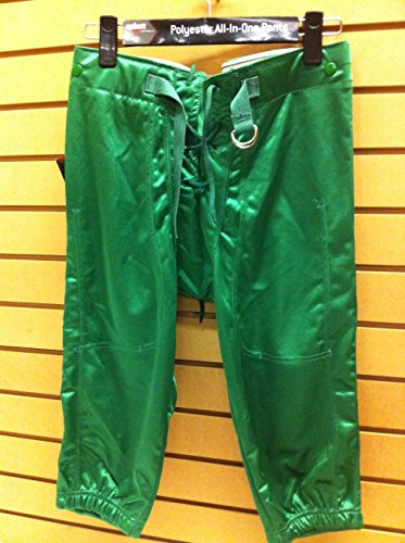 CHAMPRO Dazzle Football Pants with Snaps Youth Husky Kelly Green Champro Dazzle Football Pants