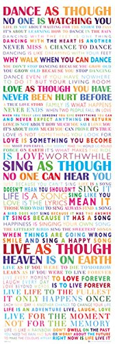 Beyond The Wall Dance Life Inspirational Motivational Quotes Decorative Print Poster 21 by 62 (Dance Sayings)