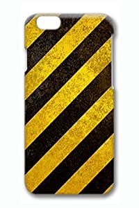 Brian114 Yellow Black Stripe 3 Phone Case for the iPhone 6 Plus 3D