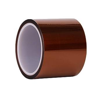Cinta adhesiva resistente Oro de poliamida de alta temperatura de ...