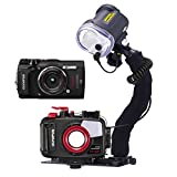 Mozaik PT-058 Underwater Housing AND Olympus TG-5 Camera w/Sea and Sea YS-03 Strobe