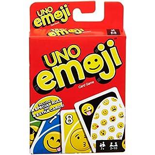 Mattel Games UNO Emojis, Multicolor, Basic Pack (DYC15)