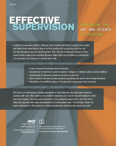 Effective Supervision: Supporting the Art and Science of Teaching by ASCD