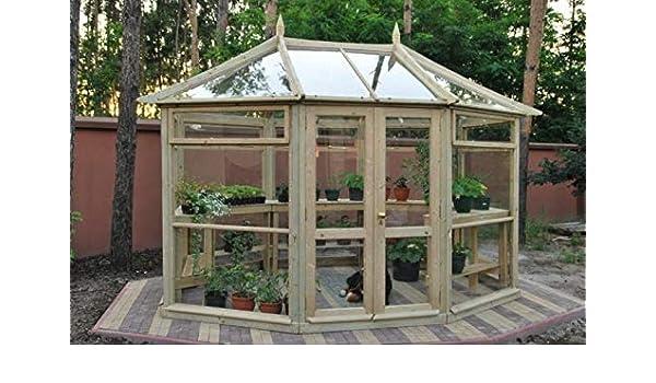 GC Edwardian - Invernadero (270 cm): Amazon.es: Jardín