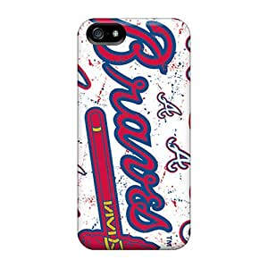Hard Plastic Iphone 5/5s Case Back Cover,hot Atlanta Braves Case At Perfect Diy