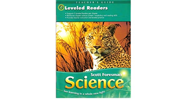 scott foresman science grade 6 leveled readers et al timothy cooney rh amazon com