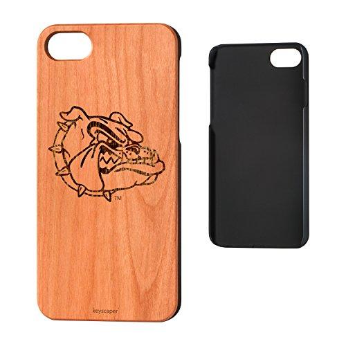 Keyscaper Gonzaga University Cherry Wood iPhone 7/iPhone 8 Case NCAA