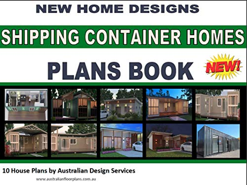 Shipping Container Homes - 10 House Plans Book: buy house plans online here