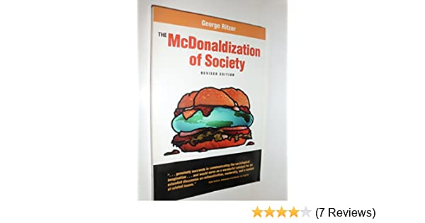 what does mcdonaldization of society mean