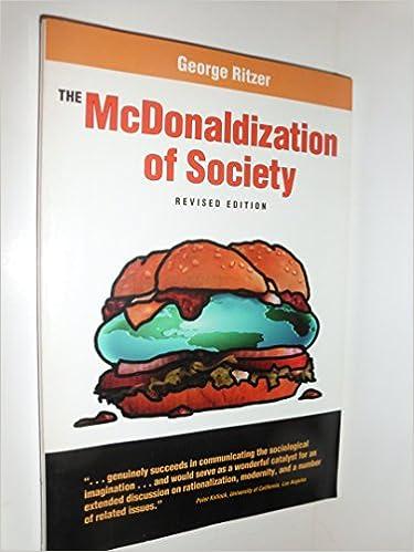 disadvantages of mcdonaldization