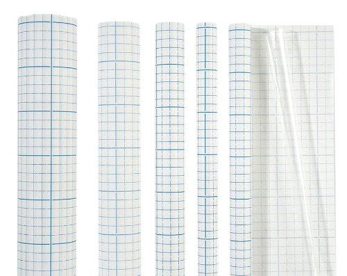 Brunnen 1040062 Buch- Heftumschlag Bucheinbandfolie selbstklebend, 180 x 45 cm transparent