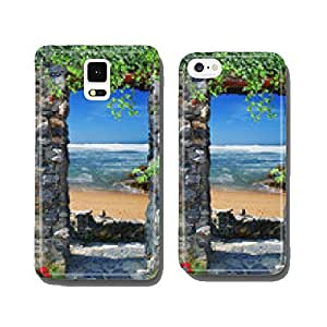 Arch overlooking the sea cell phone cover case Samsung S5