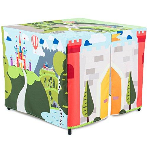 HIDEABOO Tienda de Campaa de Castillo Magico para tu Pequeo Explorador - Carpa Infantil de Tela para Explorar el Mundo Magico - Aprende Jugando con tu Casa de Campaa Educativa e Interactiva