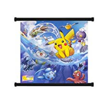 """Pokemon Anime Fabric Wall Scroll Poster (32"""" x 30"""") Inches"""