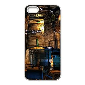 Creative House Graffiti Pattern Custom Protective Hard Phone Cae For Iphone 5s