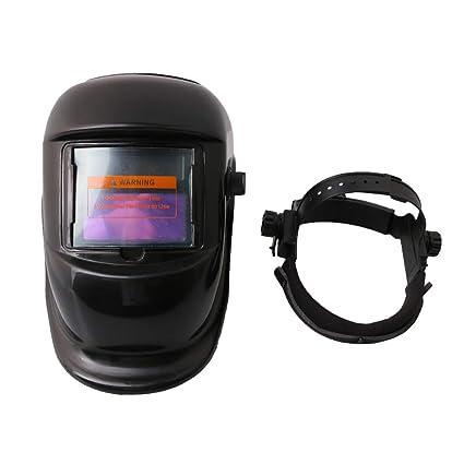 BQLZR casco de soldadura ajustable con oscurecimiento automático solar, máscara de protección para la cara