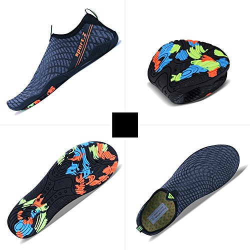 MINBEI Women Water Sports Swim Aqua Beach Men Diving Walking for blue Surf Shoes 3 Shoes ffqrxw1