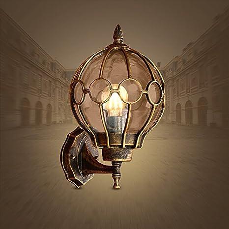 YU-K LED de luces de pared antiguas lámparas de pared de aluminio para patio jardín cercado impermeable en el color de la luz7°W Amazon.es Iluminación & YU-K LED de luces de pared antiguas lámparas de pared de aluminio ...