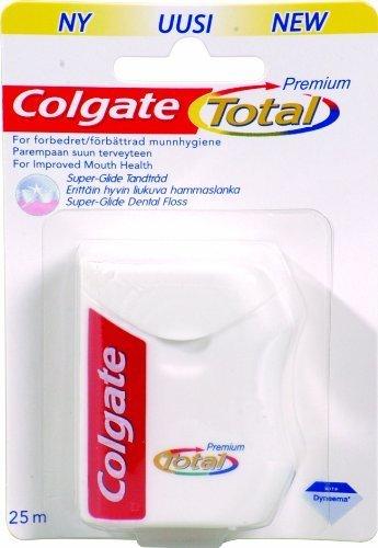 Made Waxed Dental Floss - Colgate Total Dental Floss (Pack Of 10)