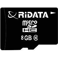 Ridata 8GB MicroSDHC Class 10 Flash Memory Card