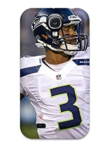 Durable Protector Case Cover With Seattleeahawks Hot Design For Galaxy S4