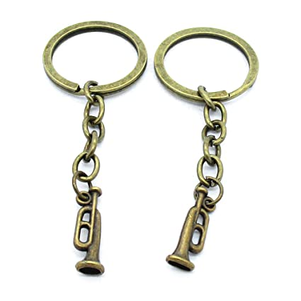 Llavero con etiquetas, llavero, cadenas, anillos, joyería ...