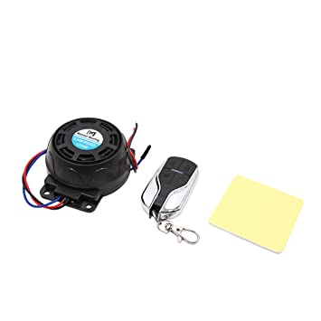 sourcing map DC 12V 125dB Kit de Alarma de Moto Sistema de ...