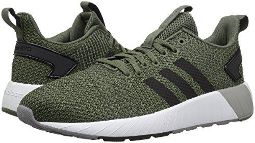 adidas Men's Questar BYD Running Shoe, Base Green/Black/Grey, 6.5 M US by adidas (Image #5)