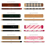 POP SKIN Elaborate Skin Decal Sticker 1 Set 4 Designs #25~#32 For Apple Pencil
