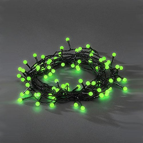 100 led indoor outdoor green berry christmas lights