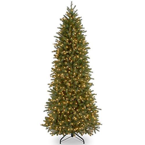 National Tree 9 Foot Jersey Fraser Fir Pencil Slim Tree