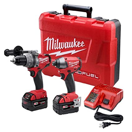 Milwaukee 2797-22 M18 Fuel Lithium 2-Tool Combo Kit