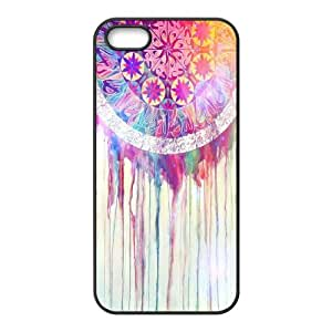 FOCUSCASE Diy Hard Customized case Of Dream Catcher For iPhone 5,5S