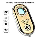 RXAMYDE Anti Spy Hidden Camera Detector RF Bug Detector Wireless Signal Scanner, Personal