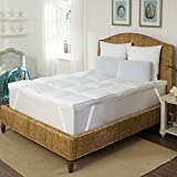 Hotel Laundry FB-007-1T 3 Inch Mattress Topper/Feather Bed with Microfiber Cover