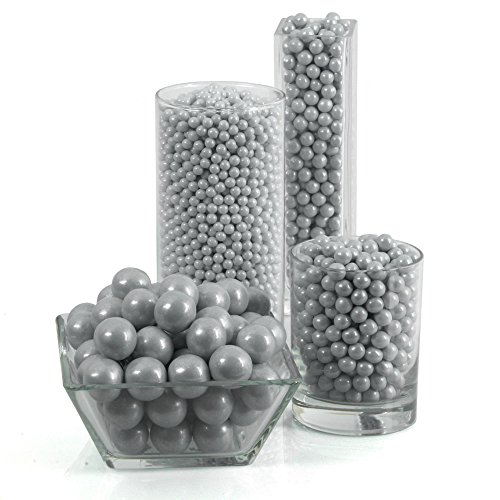 Round Party Candy Kit Silver